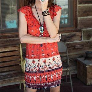 Spell & the Gypsy Desert Wanderer Shift Dress Rare